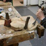 beeldhouwenin hout
