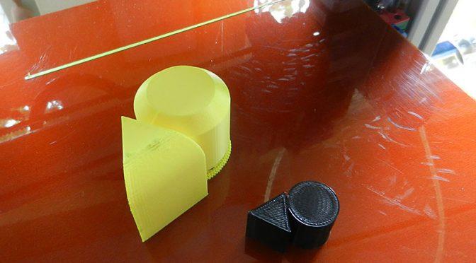 Eenvoudige vormen leren 3D printen.