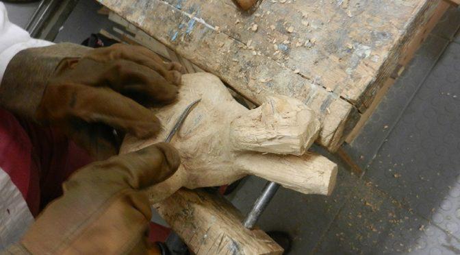 Cursus beeldhouwen in hout
