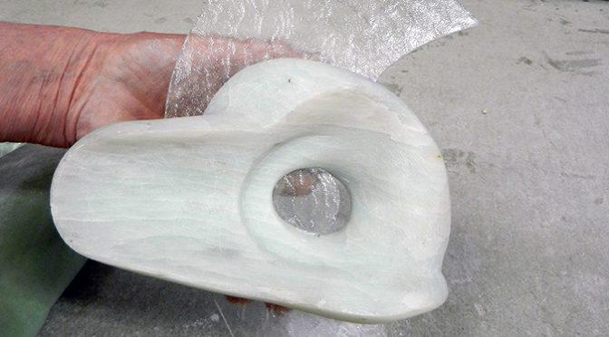 Het combineren van verschillende materialen.