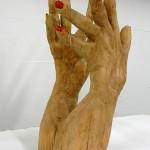 Handen van hout