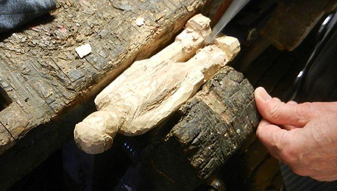 Geschikte houtsoorten om te beeldhouwen: eikenhout